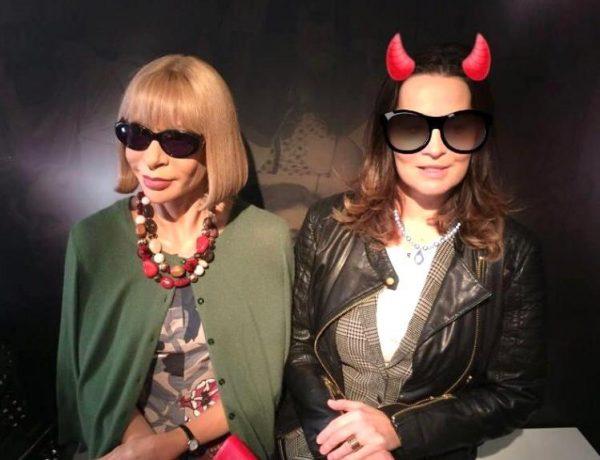 Michaela mit Anna Wintour
