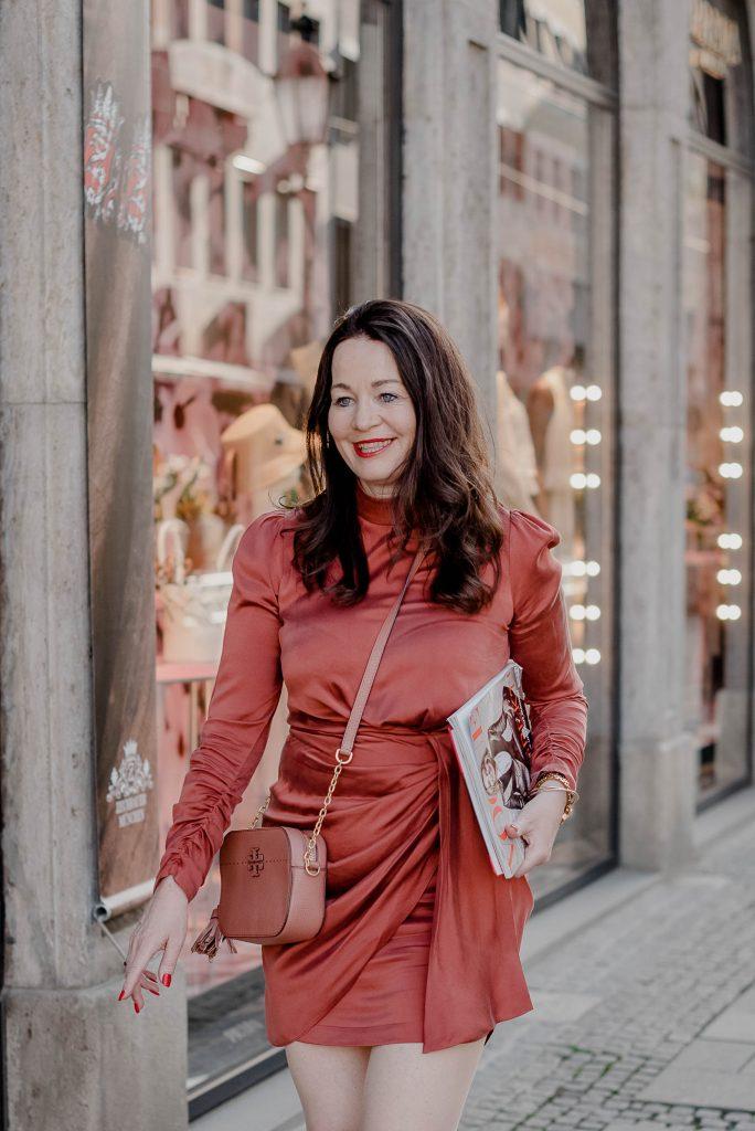Michaela Aschberger Red Dress