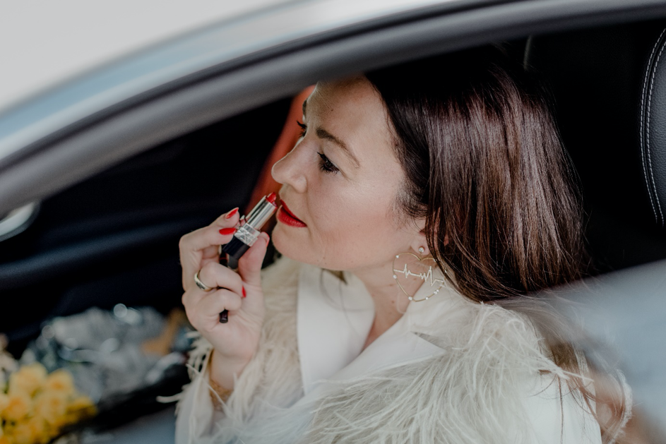 Red Lipstick Michaela Aschberger