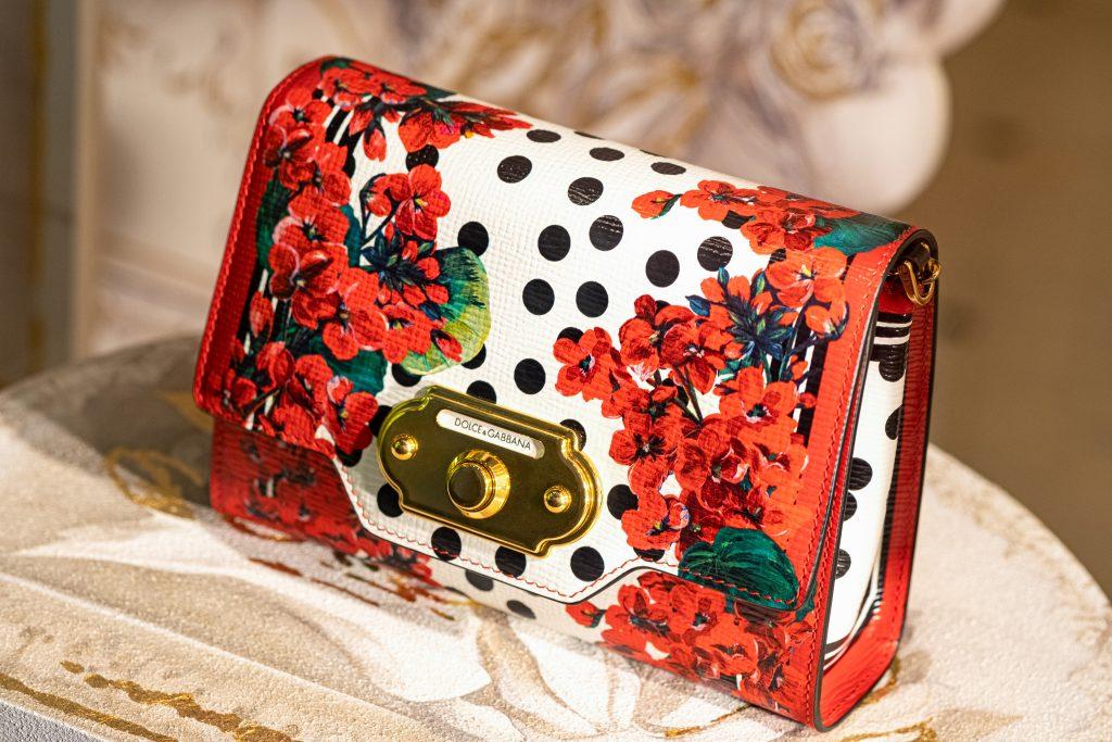 Clutch von Dolce & Gabbana mit Polka-dots